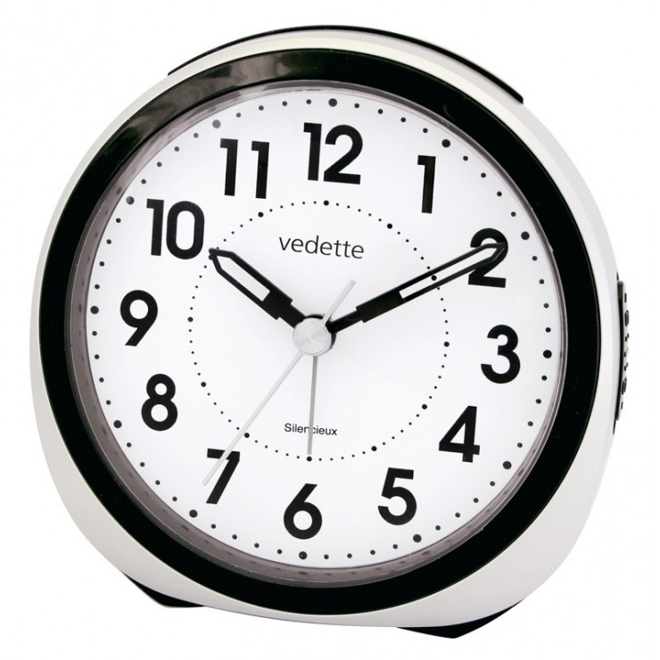 REVEIL QUARTZ SILENCIEUX VEDETTE - VR10103