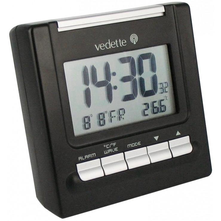 REVEIL RADIO PILOTE VEDETTE LCD - VR30022