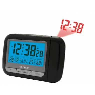 REVEIL RADIO PILOTE VEDETTE LCD - VR30053