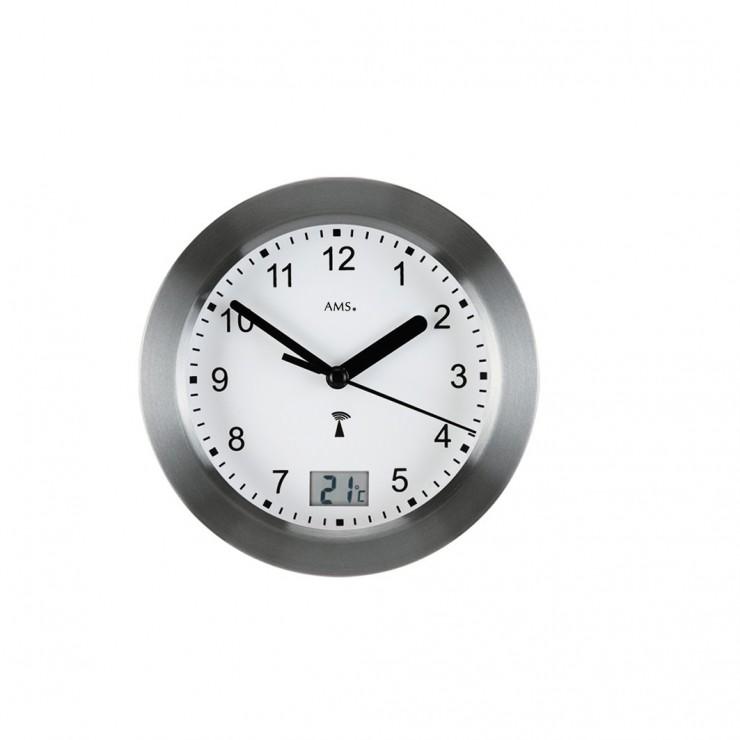 Petite horloge radio-pilotée étanche de salle de bain : Découvrez ...