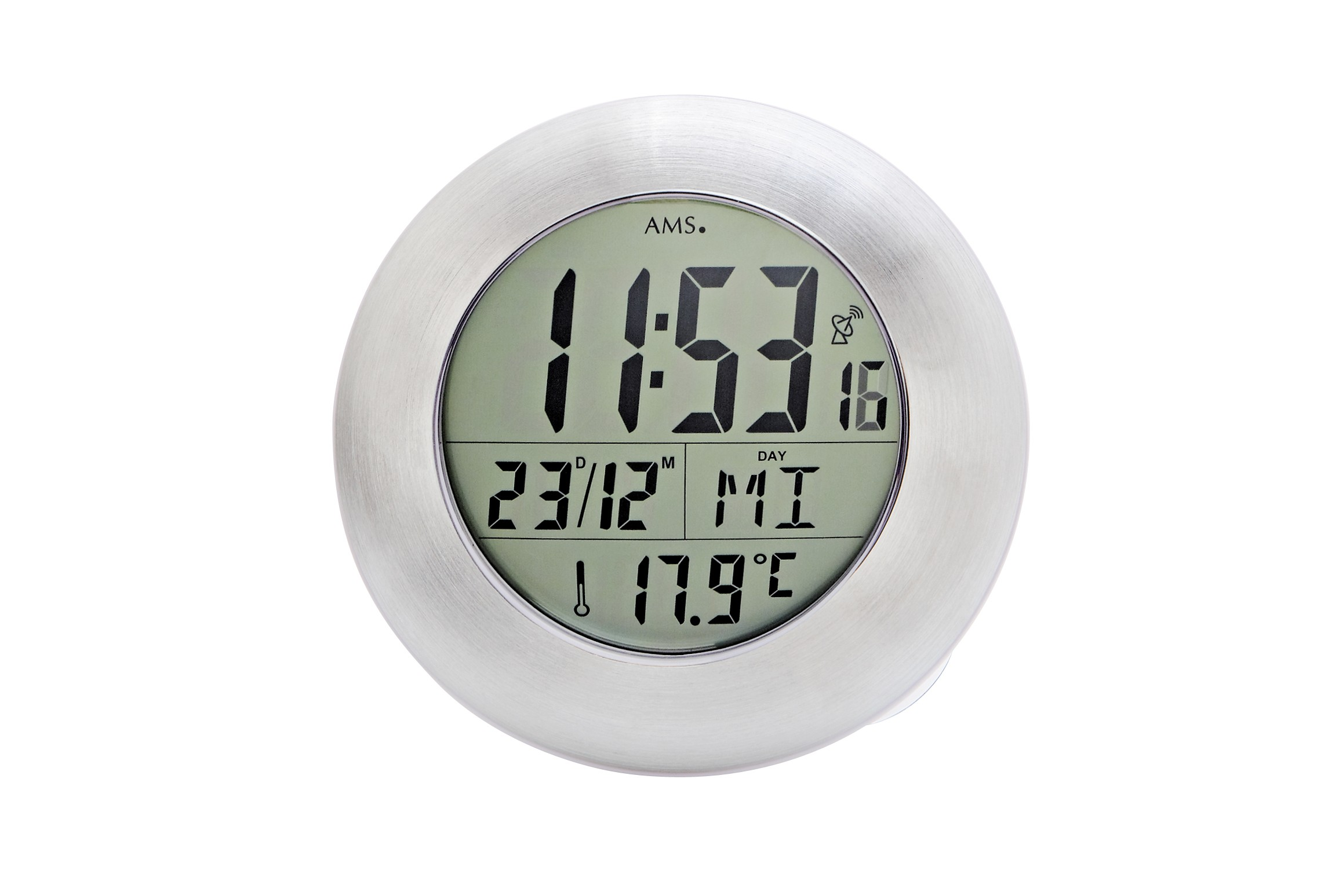 Petite horloge radio-pilotée étanche de salle de bain : Découvrez nos  horloges étanche AMS