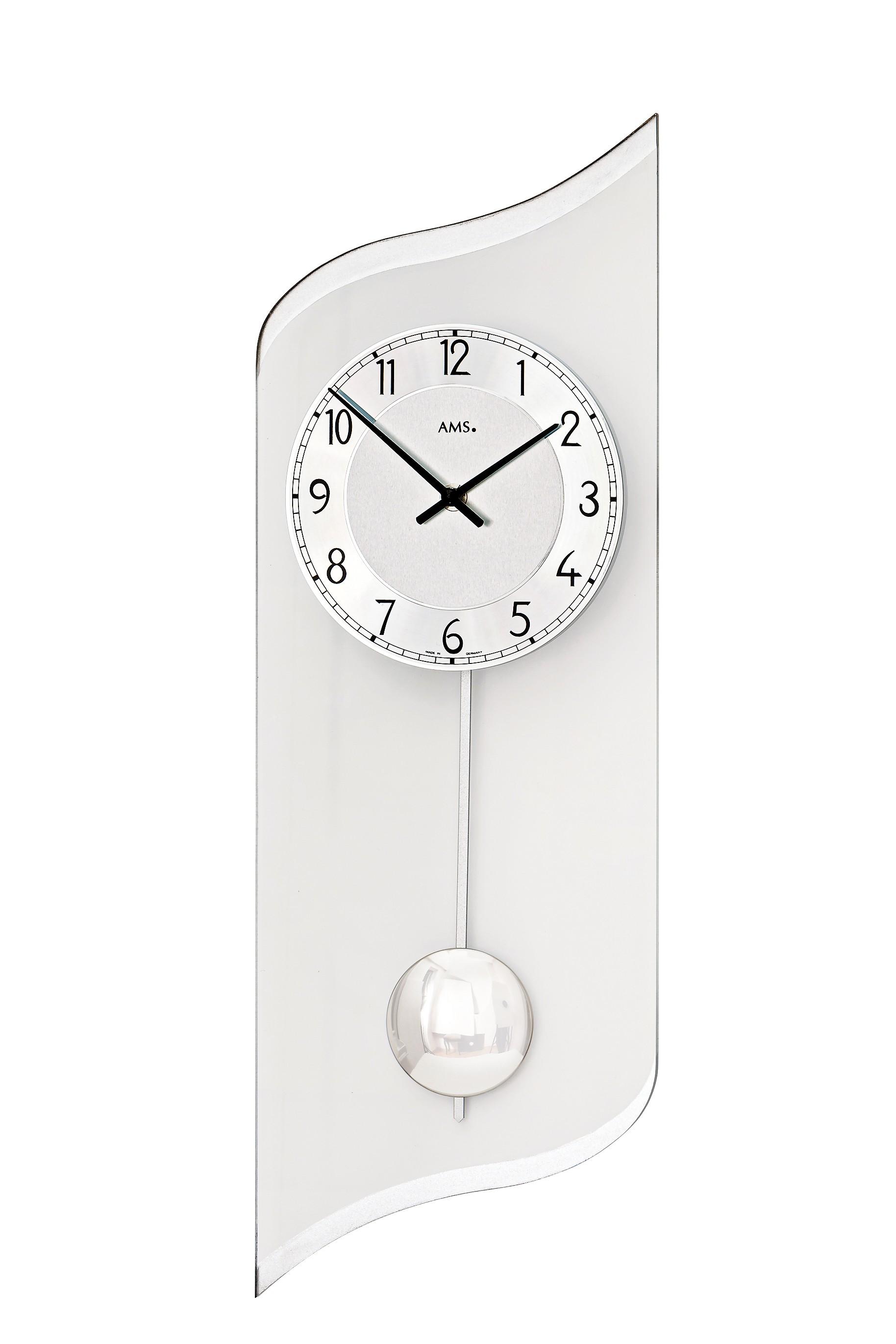 horloge en verre design