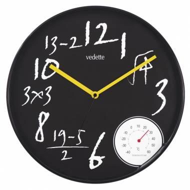 Pendule Murale Ronde Maths - 95