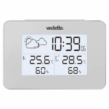 REVEIL VEDETTE LCD STATION METEO - VR30083
