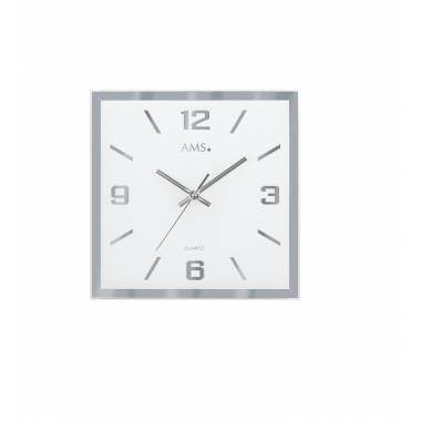 PENDULE DESIGN QUARTZ CARRE - 9324