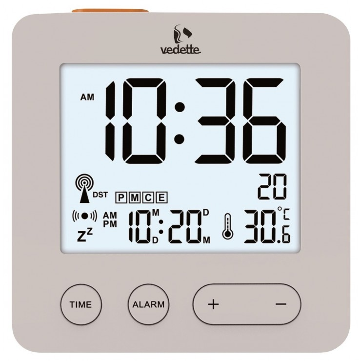 REVEIL VEDETTE LCD RADIO PILOTEE - VR30063