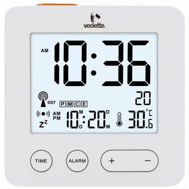 REVEIL VEDETTE LCD RADIO PILOTEE - VR30065