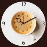 Horloge murale de cuisine