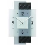 Horloge murale design en verre