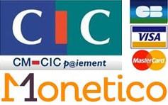 Paiement par CB Monetico